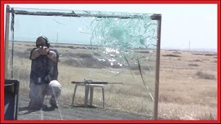 BULLETPROOF GLASS -  What will it STOP?  (bank teller POV)