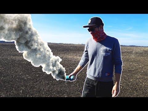 Как сделать дымовуху из PUBG? Как сделать дымовую шашку? Дымовуха из селитры и газеты
