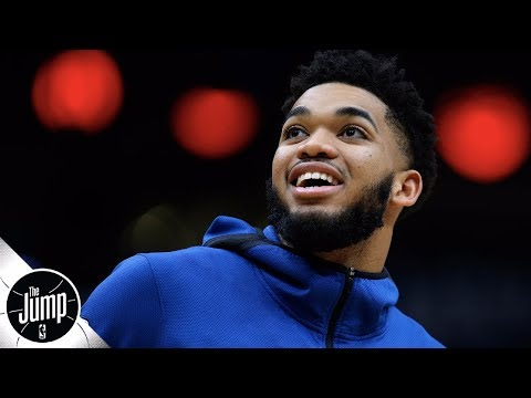 Karl-Anthony Towns could earn $31 million by getting All-NBA (plus, Lakers' Cancun Meter) | The Jump thumbnail