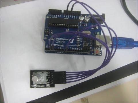 Lập trình vi điều khiển-Phần 44-Sử dụng Encoder quay với mạch Arduino- Arduino and Encoder 1