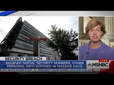 MSNBC: Senator Baldwin Speaks Out on Equifax Data Breach