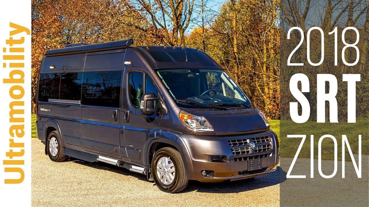 2018 Roadtrek Zion SRT Review   Class B Camper Van RV Under 20 feet