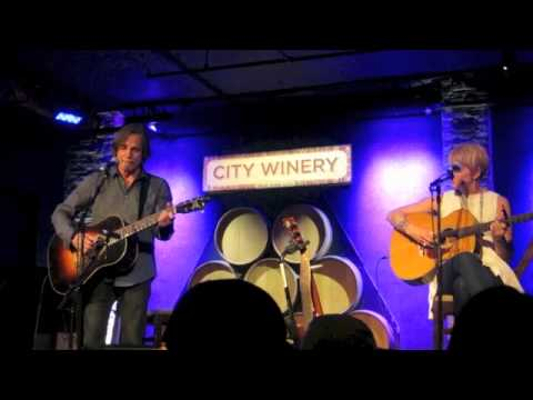 "Jackson Browne & Shawn Colvin @ City Winery - ""Something Fine"""