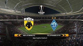 AEK Athens vs. Dynamo Kyiv | 15/02/2018 | UEFA Europa league 2017/2018