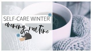 COZY Self-Care Winter EVENING Routine | Day-In-The-Life of a Creative Entrepreneur