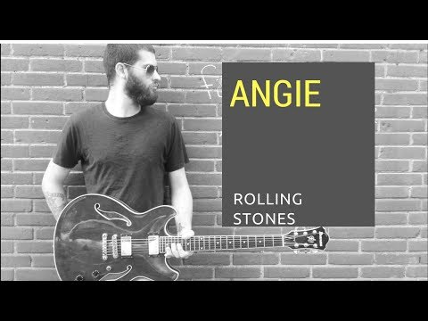 angie-●rolling-stones-●-[hd]-guitar-melody-cover