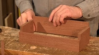 Dovetail Caddy (part 1 Of 5) - Woodworking Project With Paul Sellers