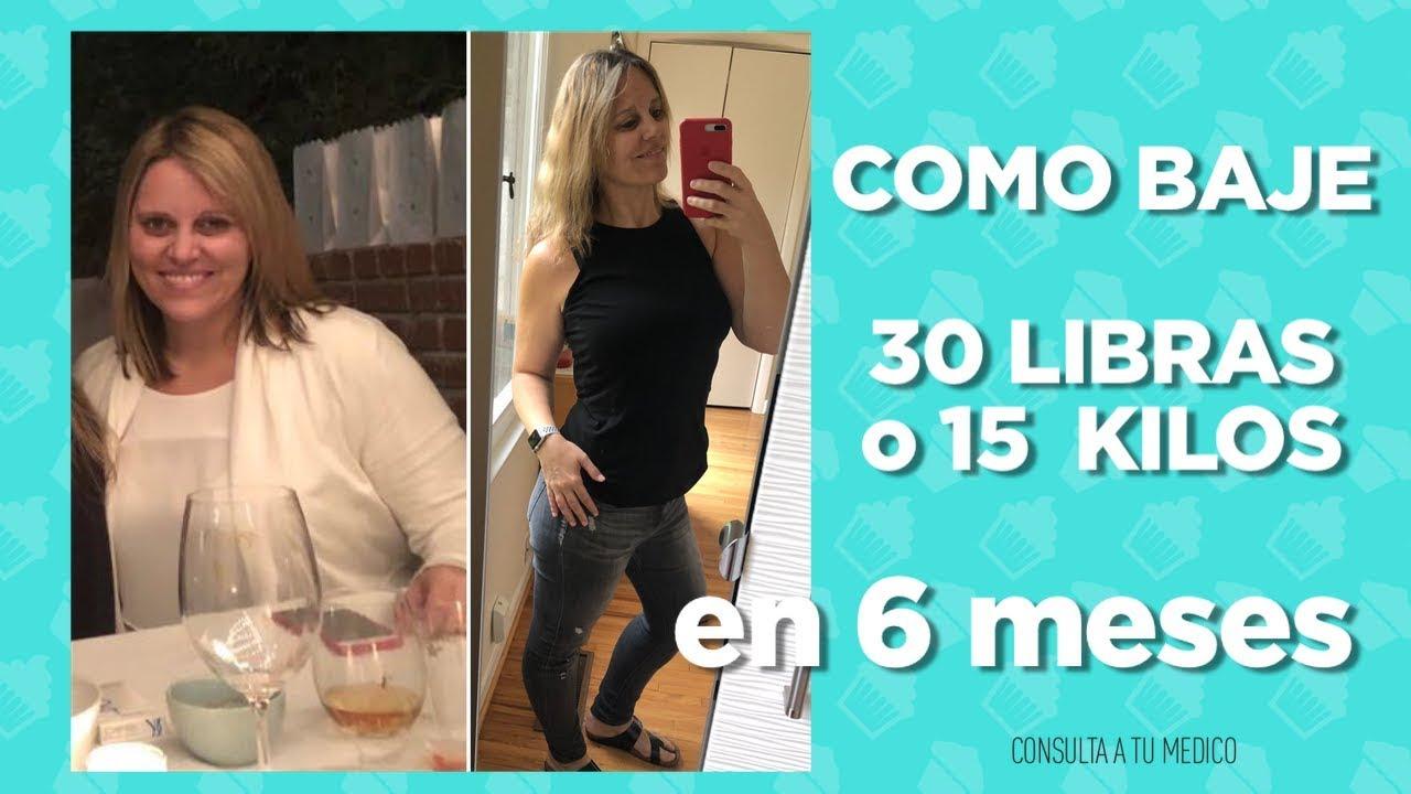 Dieta para bajar de peso 30 kilos into pounds