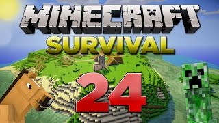 Minecraft Xbox: Survival Lets Play - Part 24 [XBOX 360 EDITION] Underwater Issues - W/Commentary