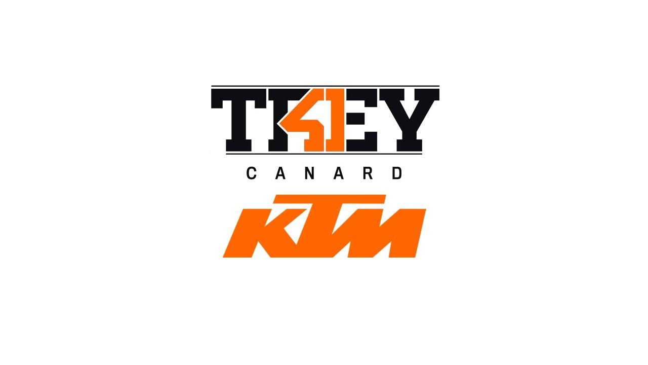 first look - trey canard - red bull ktm - youtube