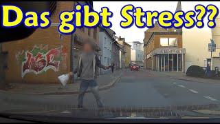 Aggressiver Fußgänger, Instant-Karma und knapp 100km/h innerorts| DDG Dashcam Germany | #249
