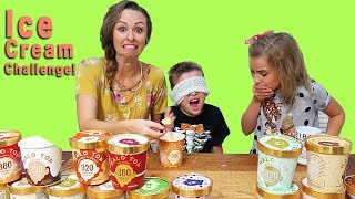 HILARIOUS ICE CREAM CHALLENGE!!