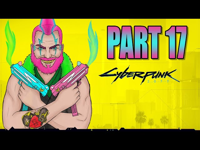 Cyberpunk 2077 part 17 - Afterlife   Streetkid   Gameplay Let's Play