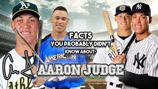 Interesting Facts You Probably Didn't Know About Aaron Judge