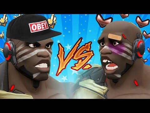 Overwatch - Theirs vs Ours: Doomfist
