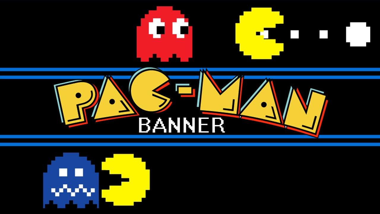 Unique Pac-Man - Animated Banner - YouTube DH44