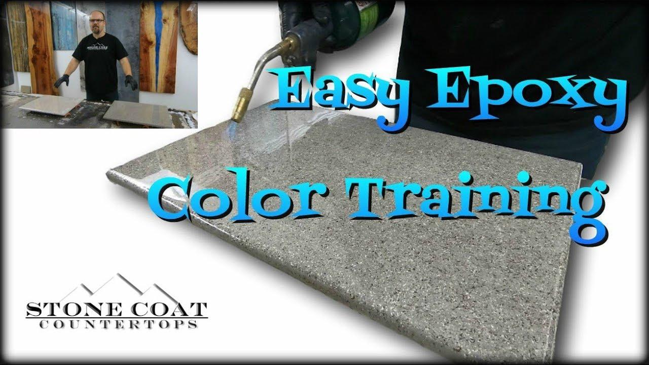 Easy Epoxy Color Training