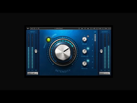 Introducing the Greg Wells VoiceCentric Vocal Plugin by Waves
