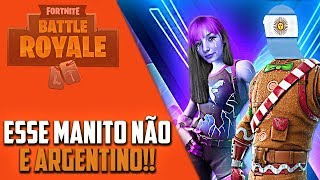 J'AI JOUÉ FORTNITE AVEC MON FRIEND BOLUDO WHO SPEAKS PORTUGUESE BETTER THAN MANY PEOPLE!
