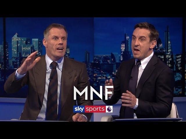 Jamie Carragher and Gary Neville debate Jordan Hendersons best position | MNF