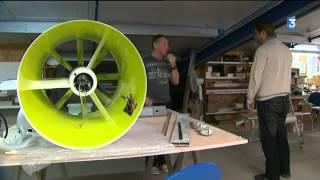 Un prototype d'avion à propulsion électrique construit en Charente-Maritime