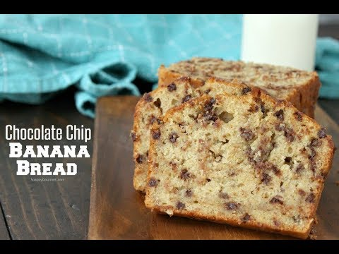 Chocolate chip banana bread recipe video youtube chocolate chip banana bread recipe video forumfinder Images