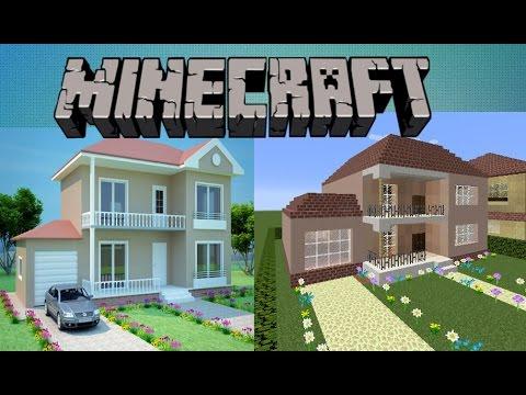 Minecraft: Garajlı Ev Yapımı