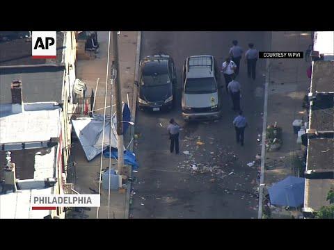 Car Plows Into Philadelphia Block Party