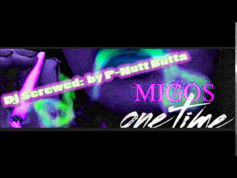 Migos - One Time (Screwed & Chopped) by Nutt