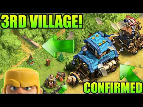 3RD VILLAGE UPDATE CONFIRMED?WINTER UPDATE CLASH OF CLANS 2017•Future T18