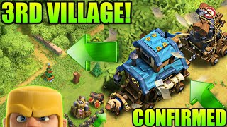 3RD VILLAGE UPDATE LEAKED OFFICIALLY BY SUPERCELL! WINTER UPDATE CLASH OF CLANS 2017•Future T18