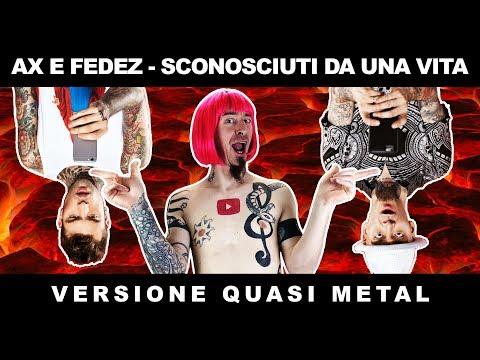 J-Ax & Fedez - Sconosciuti Da Una Vita (ROCK/PUNK/METAL COVER) #bastavideoverticali #VVS
