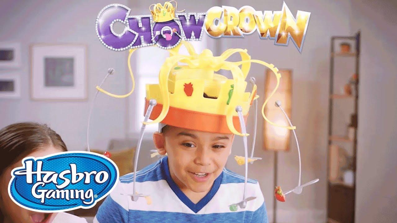 Hasbro Gaming E2420 Chow Crown Le Roi des Gourmands