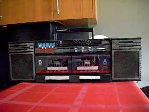 international radio cassette boombox 80 39 s youtube. Black Bedroom Furniture Sets. Home Design Ideas