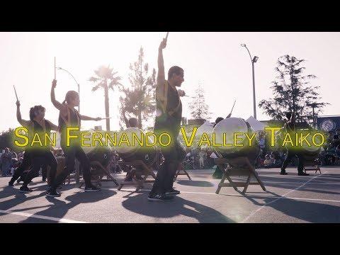San Fernando Valley Taiko Demo 2 | Obon Festival 2018 | Hongwanji Buddhist Temple | 4k