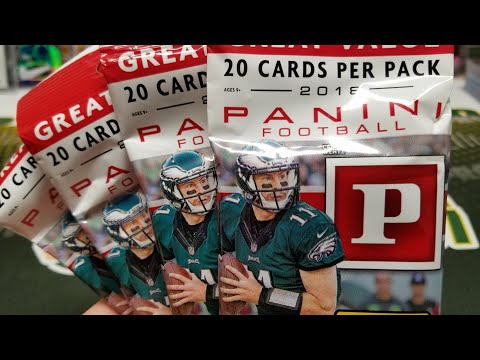 2018 Panini Football Retail Value Pack Opening
