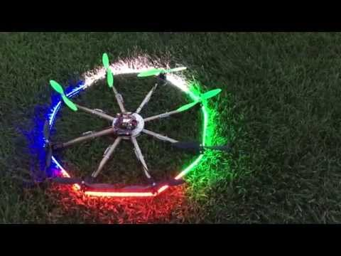 Octocopter UFO!