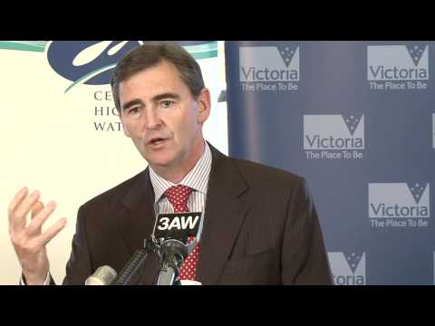 John Brumby - Water gives Victorians a spring in their step