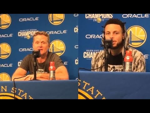 Steve Kerr speaks on why he allowed the team to coach tonight: 'it is their team' ft Steph Curry