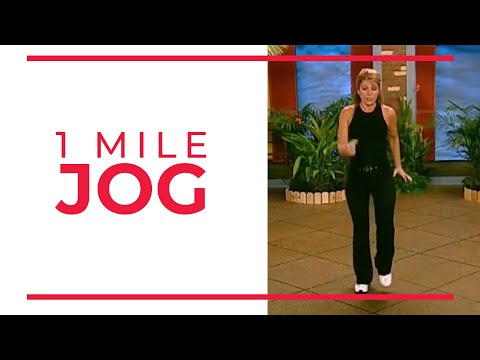 1 Mile Jog | Walk At Home Fitness Videos