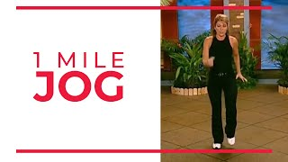 1 mile jog walk at home fitness videos
