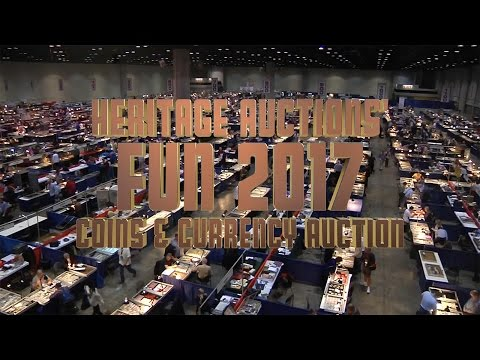 Heritage Auctions (HA.com) -- Be A Part of the Largest Numismatic Event of the year 2017.