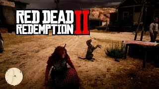 Feeding The Starving Dogs. Red Dead Redemption 2