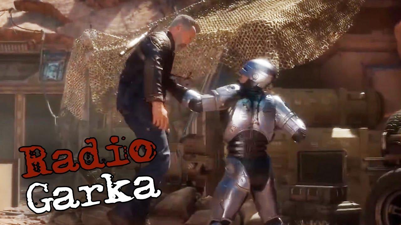EL BANANERO - TERMINATOR vs ROBOCOP en RADIO GARKA