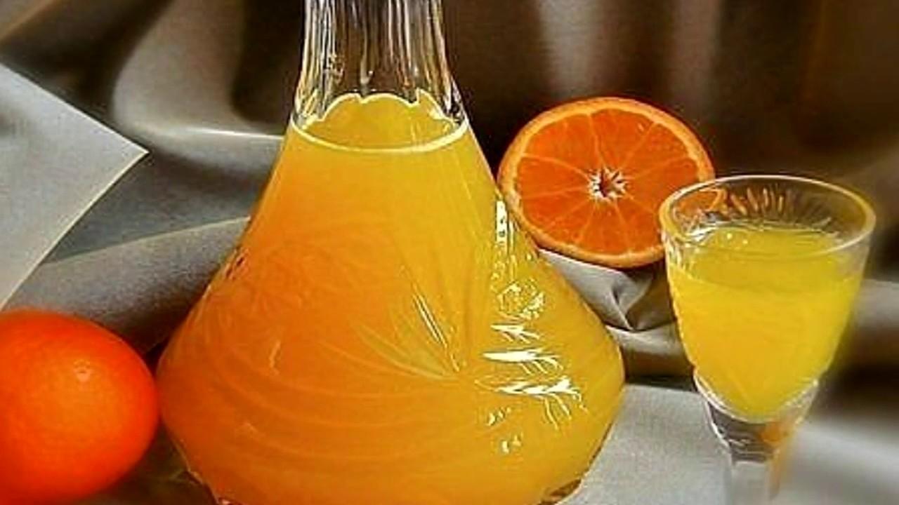 с Рецепт настойки мандаринами водке на
