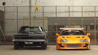 Toyota Supra & Dodge Charger - Making Of Revista FULLPOWER