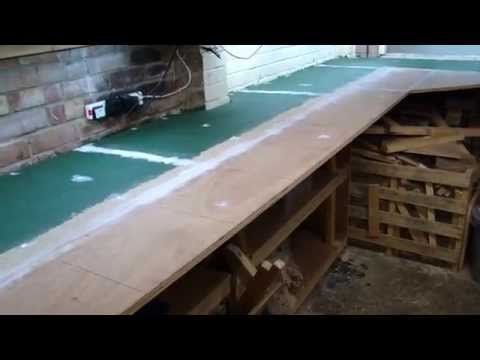 UPDATE 3 Starting from scratch Garage model railway Layout in OO gauge.
