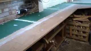 UPDATE 3 Starting from scratch Garage model railway Layout in OO gauge.