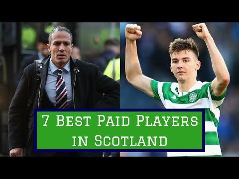 7 Best Paid Footballers in Scotland
