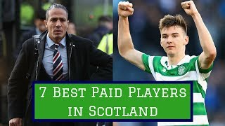 7 Best Paid Footballers in Scotland